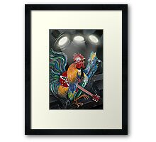 Ruling The Roost Framed Print