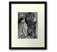 tomorrow is a long time Framed Print