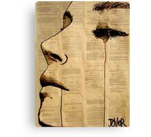 heart softly pounding Canvas Print