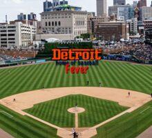 Detroit Home of Baseball Fever Sticker