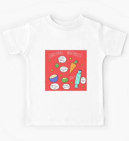 Christmas Vegetables Kids Tee