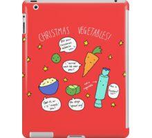 Christmas Vegetables iPad Case/Skin