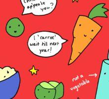 Christmas Vegetables Sticker
