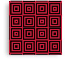 PATTERN-574 (RED) Canvas Print