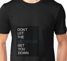 Muggles Print Ravenclaw Unisex T-Shirt