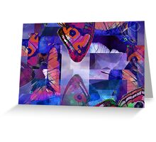 Abstract Composition Greeting Card