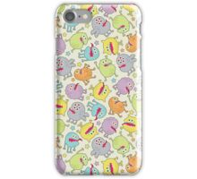 Cute small monsters. iPhone Case/Skin