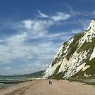 White Cliffs & White Clouds by FelicityB