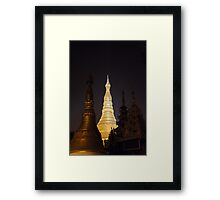 Schwedagon Pagoda, Framed Print