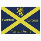 Golden Cross Tartan Army by dollydigital
