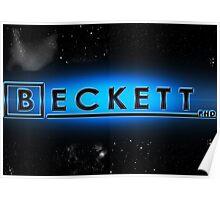 Beckett P.H.D Poster
