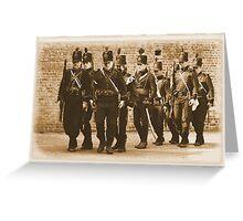 95th Rifles Drill Greeting Card