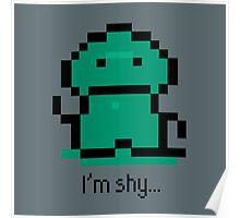 I'm shy - EarthBound Tenda Poster