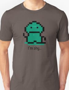 I'm shy - EarthBound Tenda T-Shirt