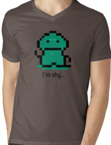 I'm shy - EarthBound Tenda Mens V-Neck T-Shirt