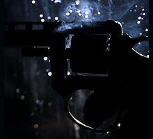 Happiness is a Smokin' Toy Gun. by Evan Jones