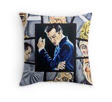 The Curse of Genius Throw Pillow