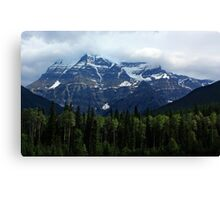 Mount Robson Canvas Print