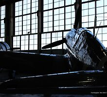 American Airpower Museum Interior | Farmingdale, New York  by © Sophie W. Smith