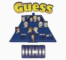 Guess Who One Piece - Short Sleeve