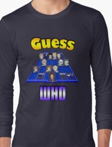 Guess Who Long Sleeve T-Shirt