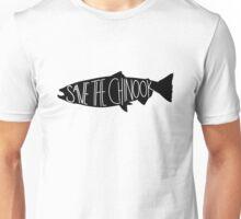 Save the Chinook Salmon! Unisex T-Shirt