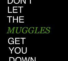 Muggles Print Slytherin by Brooke  Hager