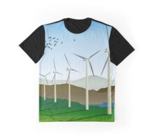 Wind Turbines Graphic T-Shirt