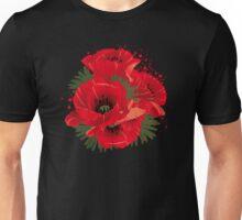 Mohnblumen Unisex T-Shirt