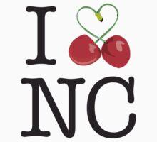 I 'Love' Newcastle (Cherry) white by StevePaulMyers