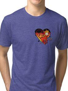 Demon Heart Tri-blend T-Shirt