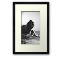 Analysis of a woman part 1 Framed Print
