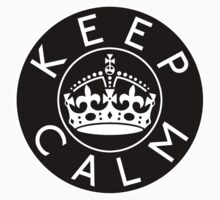 KEEP CALM ROUNDEL i by GraceMostrens
