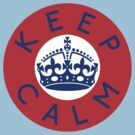 KEEP CALM ROUNDEL v by GraceMostrens