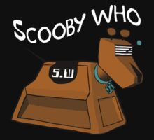 Scooby Who One Piece - Short Sleeve