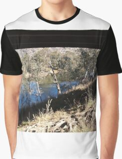 FRAMED - Under the Bridge, Goulburn Valley Hway Tallarook Vic Australia Graphic T-Shirt