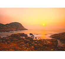 Sunrise in Hong Kong Photographic Print