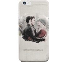 Christmas Special - Captain Swan iPhone Case/Skin