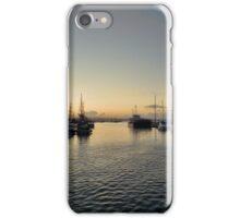 Sunset over Brixham iPhone Case/Skin