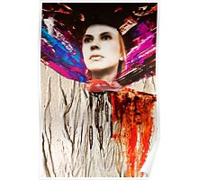 Fiona and scarf  Poster