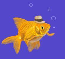 Mr. Goldfish Sticker