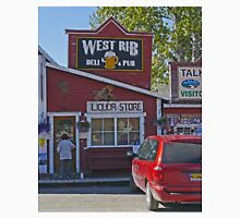 West Rib Deli and Pub, Talkeetna, Alaska, USA Unisex T-Shirt