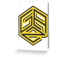 Gaz Sticker Greeting Card