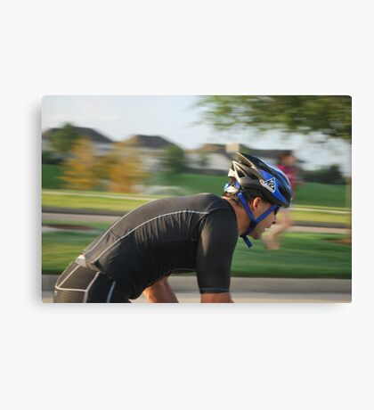 Triathlon! Canvas Print
