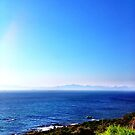 Rocklands Campsite ocean view by Jono Le Feuvre