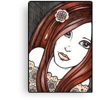 Cinnamon Girl Canvas Print