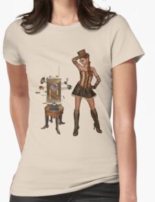 Send Me a Message Steampunk Shirt Womens Fitted T-Shirt