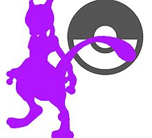 Smash Bros - Mewtwo by Exclamation Innovations