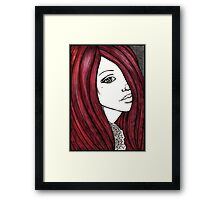Ruby Tuesday Framed Print