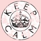 KEEP CALM ROUNDEL xix by GraceMostrens